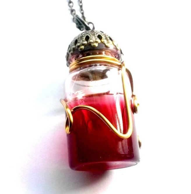 blood-vial-necklace-steampunk-handmade-gift-by-aunt-matildas-jewelry-box-necklaces
