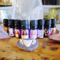 Set of 8 SOPHIA Temple Oils
