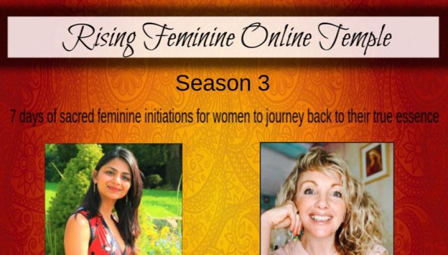 Rising Feminine Online Temple