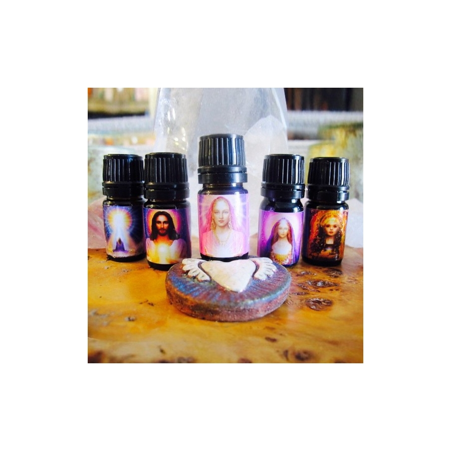 Complete Set of 9 Occitania Annointing Oils