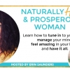 Naturally Happy & Prosperous Woman Summit